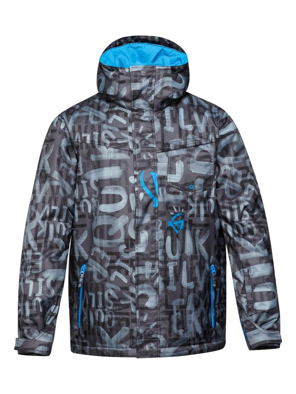 0 Mission Printed 10K Insulated Jacket  EQYTJ00073 Quiksilver