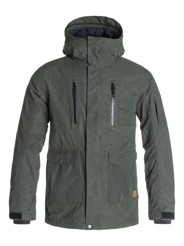 0 Dark And Stormy - Veste de snow  EQYTJ03009 Quiksilver