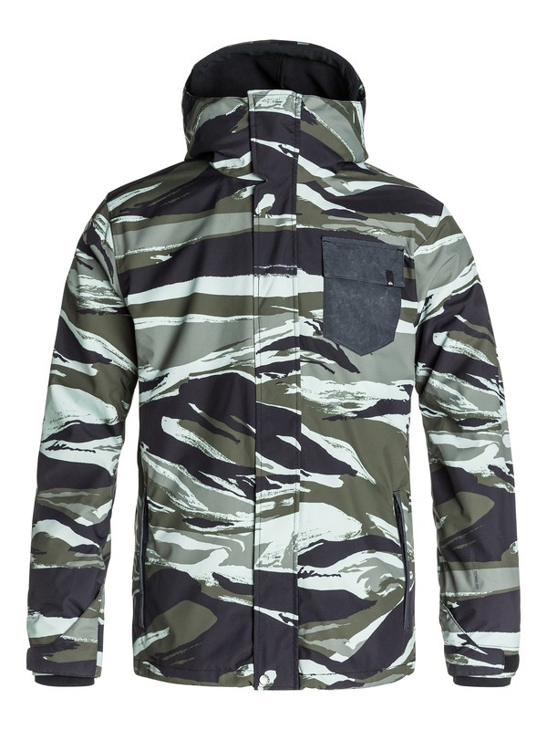 0 Mission 3N1 - Snowboard Jacket  EQYTJ03019 Quiksilver