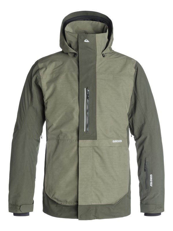 0 Travis Rice Exhibition 2L GORE-TEX Snow Jacket  EQYTJ03022 Quiksilver