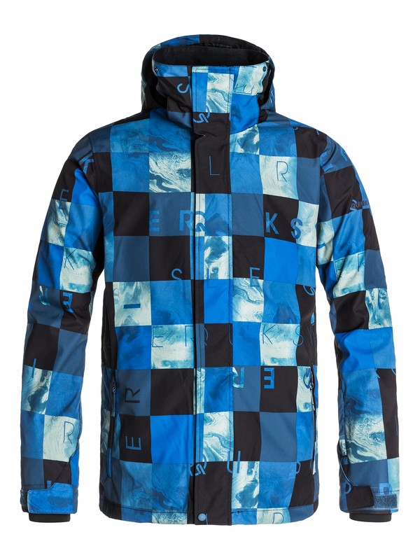 0 Mission Printed Shell 10K Snow Jacket  EQYTJ03028 Quiksilver