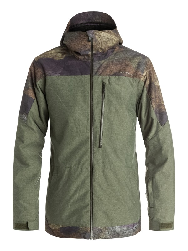0 Tension - Snow Jacket  EQYTJ03057 Quiksilver