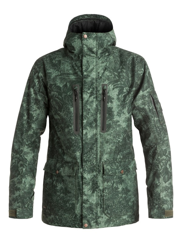 0 Dark And Stormy - Snow Jacket  EQYTJ03059 Quiksilver