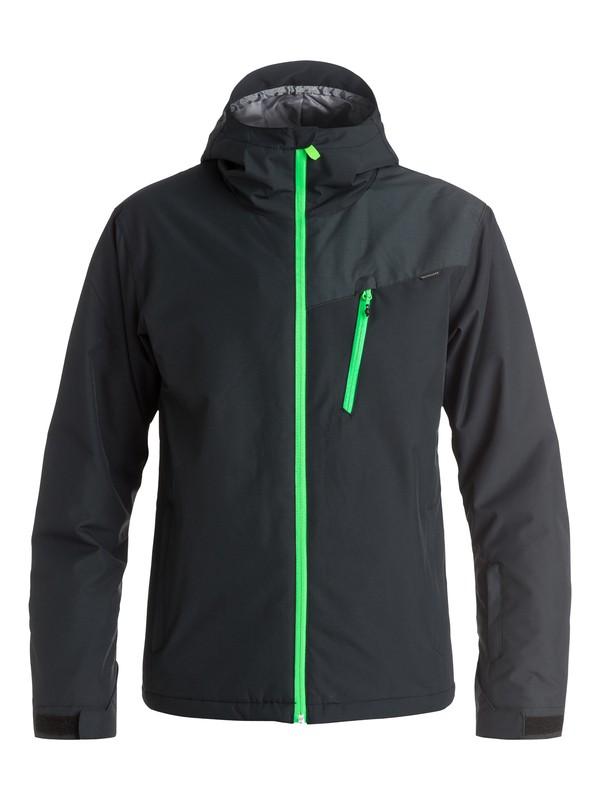 0 Сноубордическая куртка Mission Plus Черный EQYTJ03066 Quiksilver
