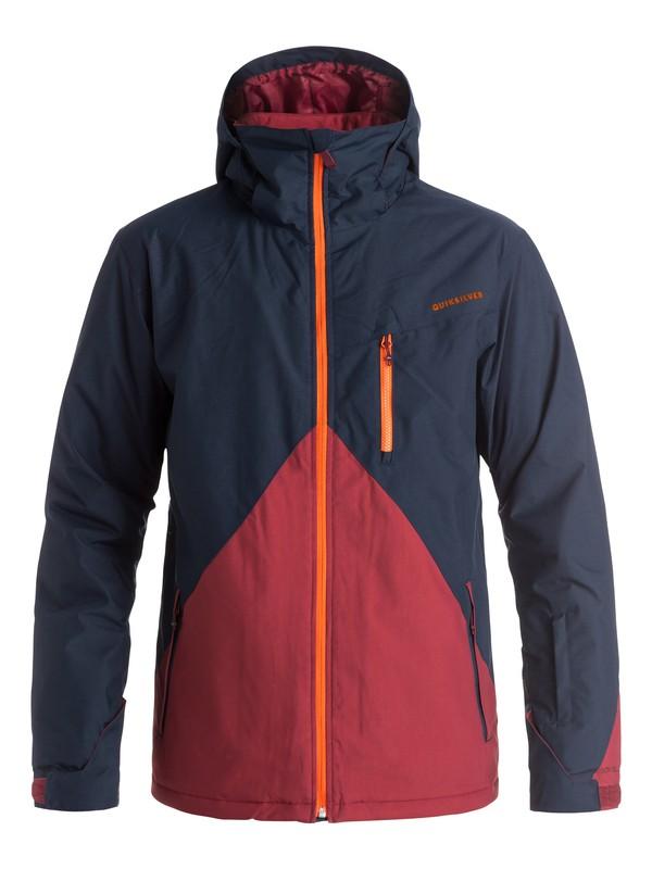 0 Mission Colorblock Snow Jacket  EQYTJ03067 Quiksilver
