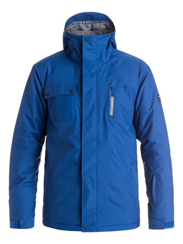 0 Mission Solid Snow Jacket  EQYTJ03068 Quiksilver
