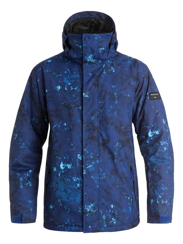 0 Mission Printed Snow Jacket  EQYTJ03069 Quiksilver