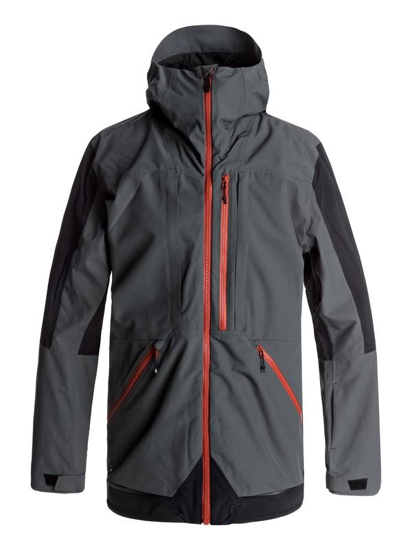 0 Travis Rice Stretch Snow Jacket Black EQYTJ03114 Quiksilver