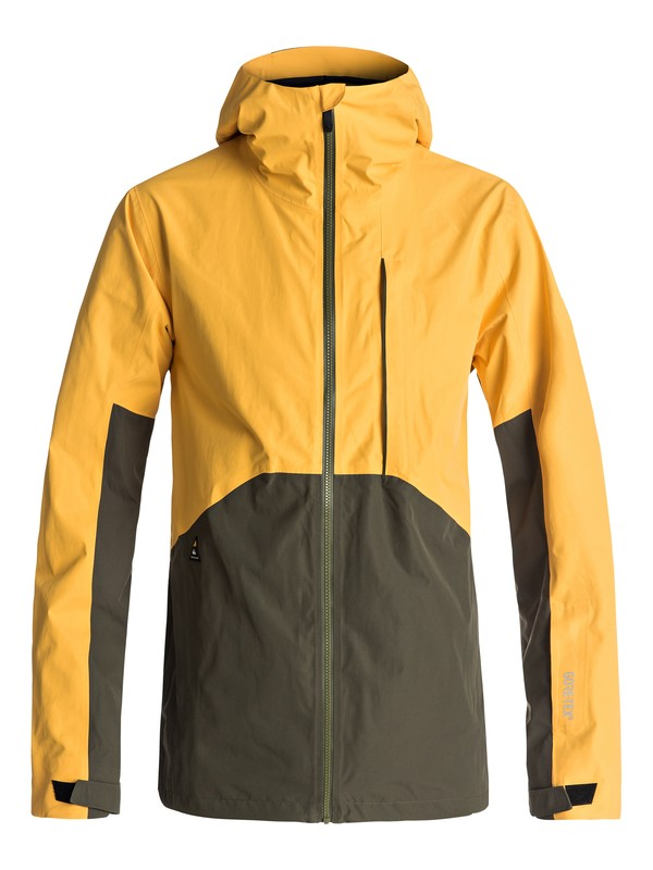 0 Forever 2L GORE-TEX® Snow Jacket Yellow EQYTJ03115 Quiksilver