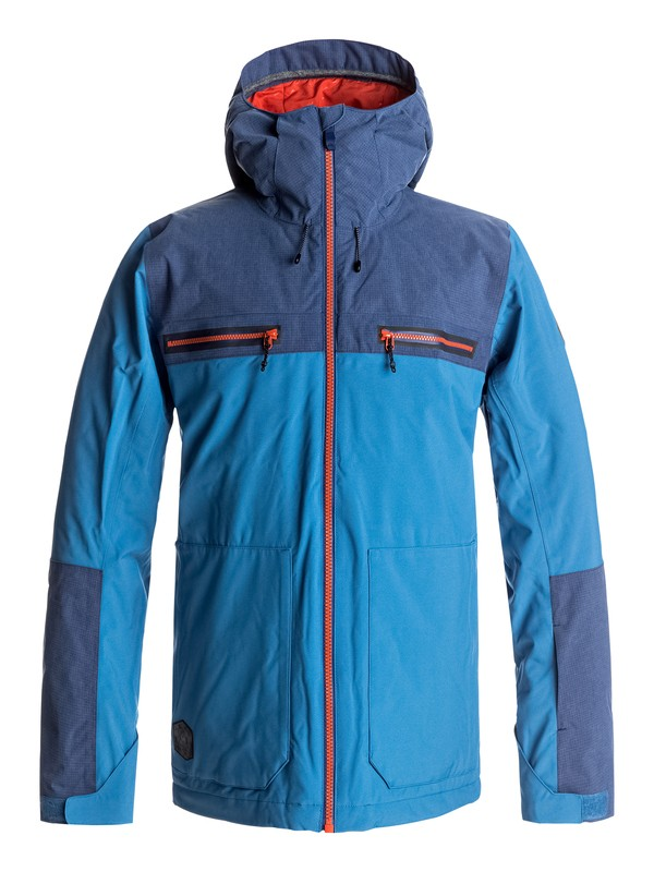 0 Arrow Wood - Chaqueta Para Nieve para Hombre Azul EQYTJ03118 Quiksilver