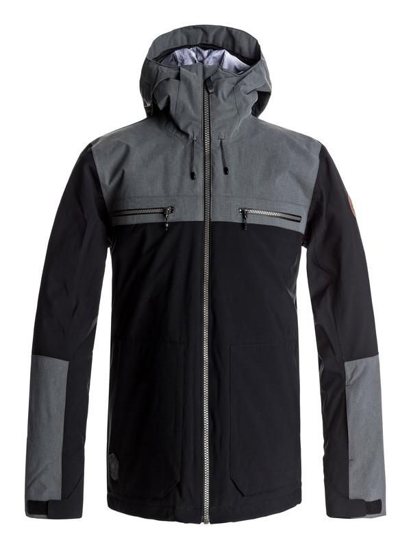 0 Arrow Wood - Chaqueta Para Nieve para Hombre Negro EQYTJ03118 Quiksilver