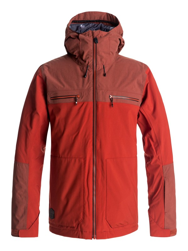 0 Arrow Wood - Chaqueta Para Nieve para Hombre Rojo EQYTJ03118 Quiksilver