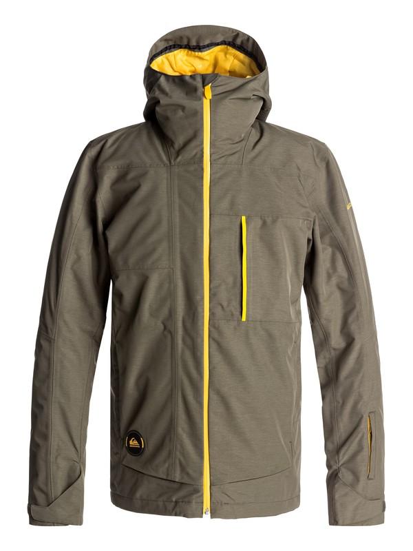 0 Sycamore - Snow Jacke für Männer Braun EQYTJ03120 Quiksilver