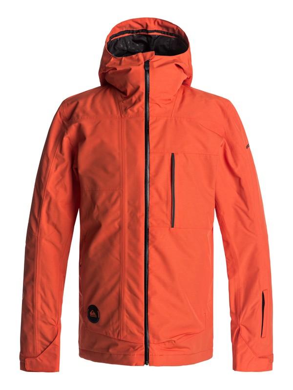 0 Sycamore - Snow Jacke Orange EQYTJ03120 Quiksilver