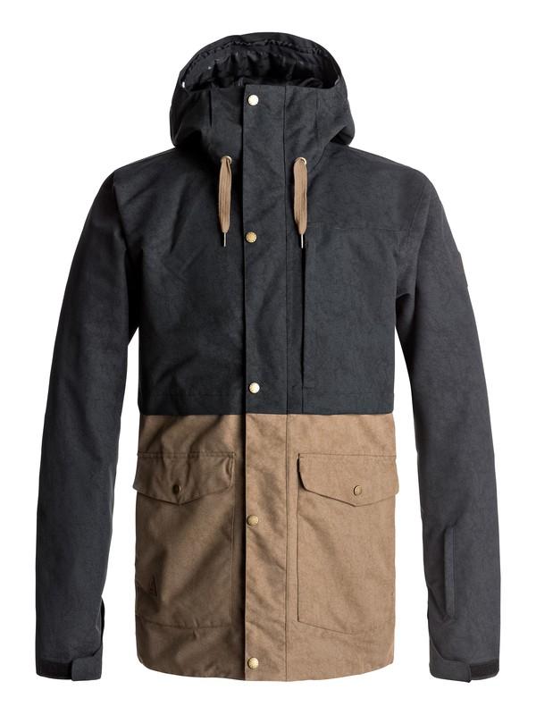 0 Horizon Snow Jacket Black EQYTJ03122 Quiksilver