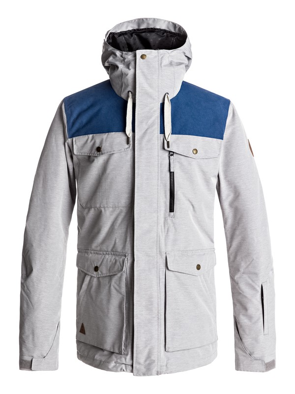 0 Raft Snow Jacket Black EQYTJ03125 Quiksilver