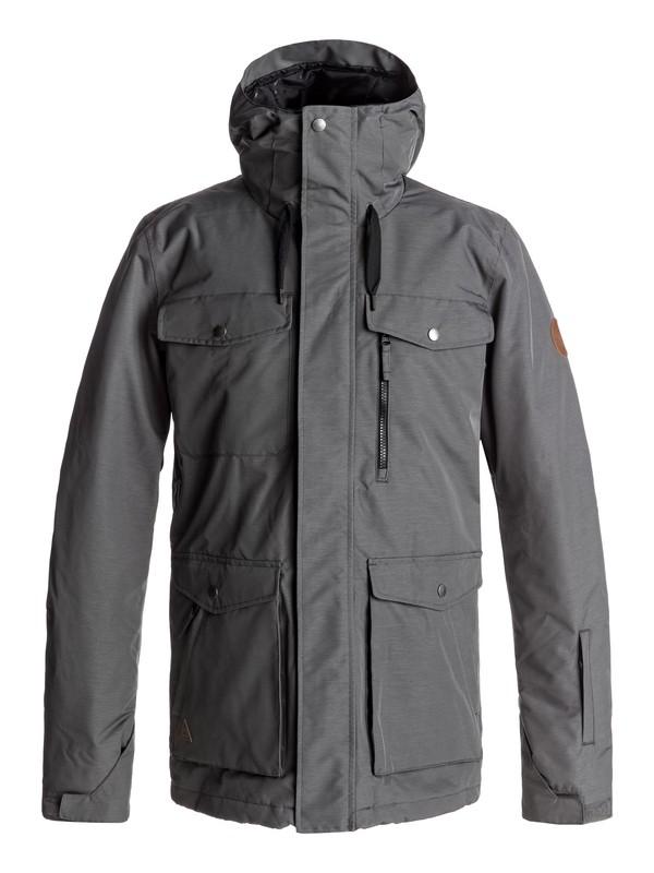 0 Raft - Snow Jacket Black EQYTJ03125 Quiksilver