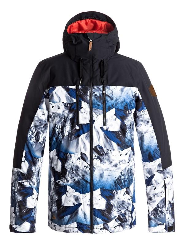 0 Mission Block Snow Jacket  EQYTJ03126 Quiksilver