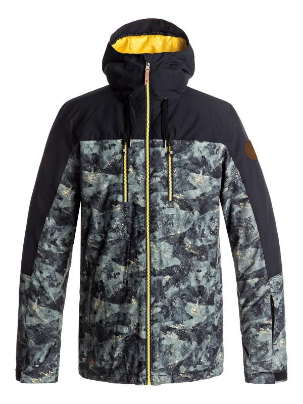 0 Mission Block - Snow Jacke für Männer Braun EQYTJ03126 Quiksilver