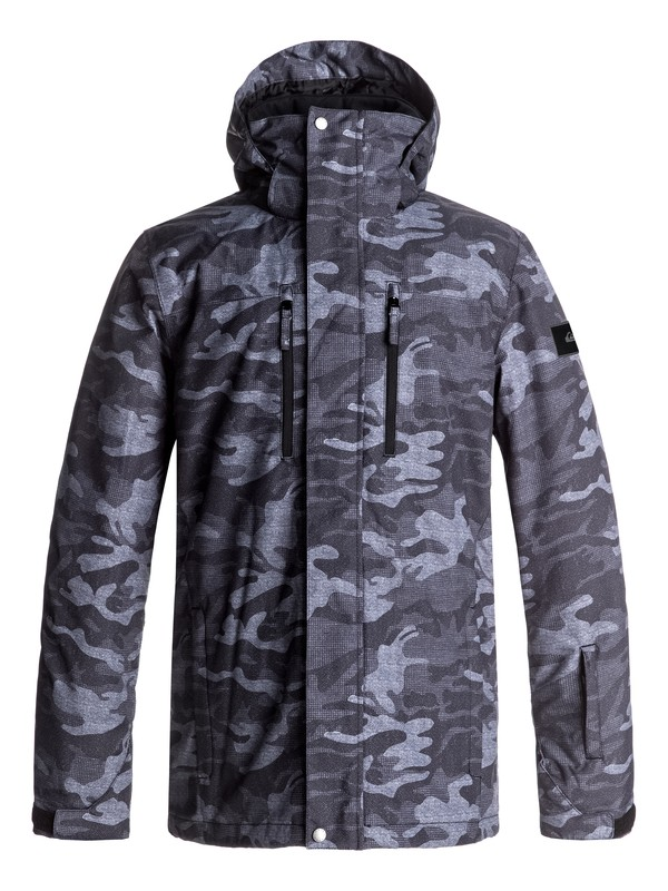 0 Mission Printed Snow Jacket  EQYTJ03128 Quiksilver