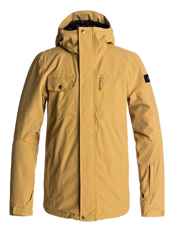 0 Mission - Snow Jacke für Männer Gelb EQYTJ03129 Quiksilver