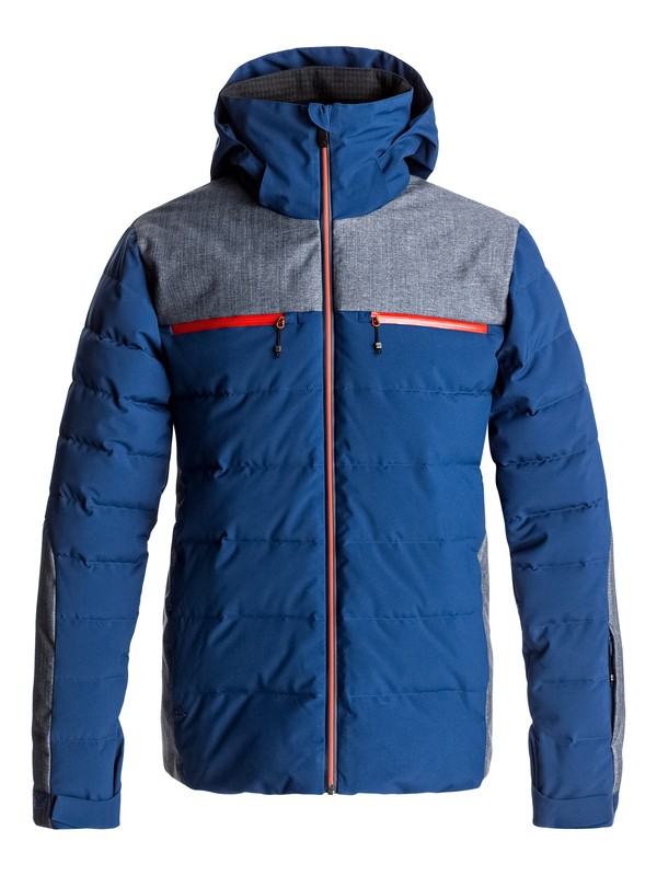 0 The Edge - Snow Jacke Blau EQYTJ03131 Quiksilver