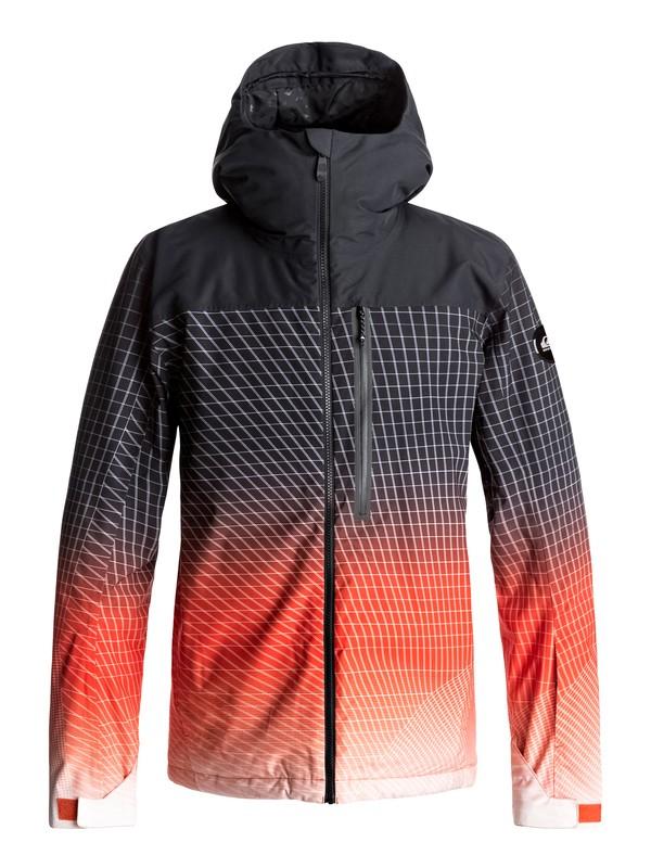 0 Сноубордическая куртка Gravity Оранжевый EQYTJ03132 Quiksilver