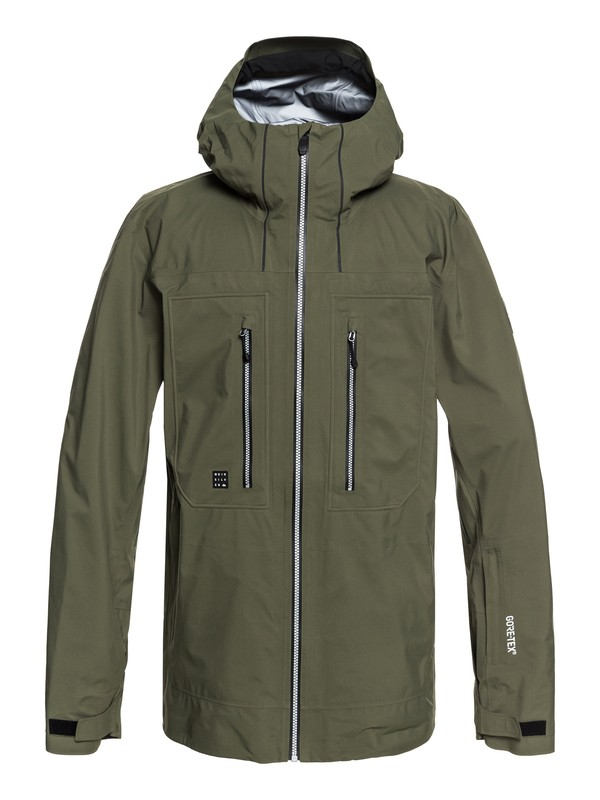 0 Mamatus 3L GORE-TEX® Snow Jacket Brown EQYTJ03168 Quiksilver