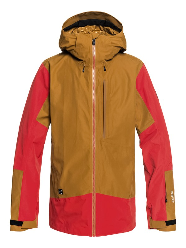 0 Forever 2L GORE-TEX® - Shell Snow Jacket for Men Brown EQYTJ03170 Quiksilver