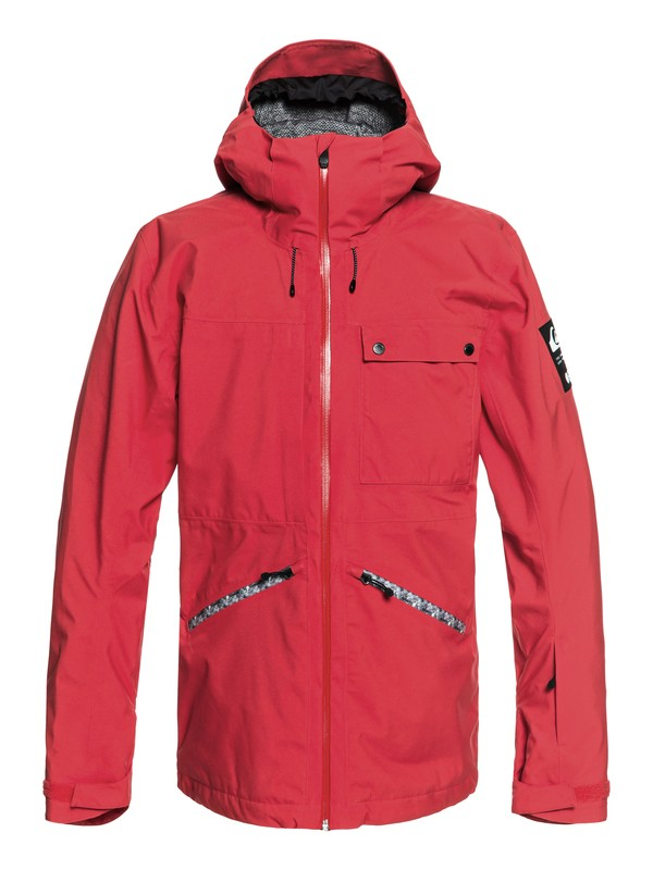 0 Snow SpinDye® - Shell Snow Jacket  EQYTJ03171 Quiksilver