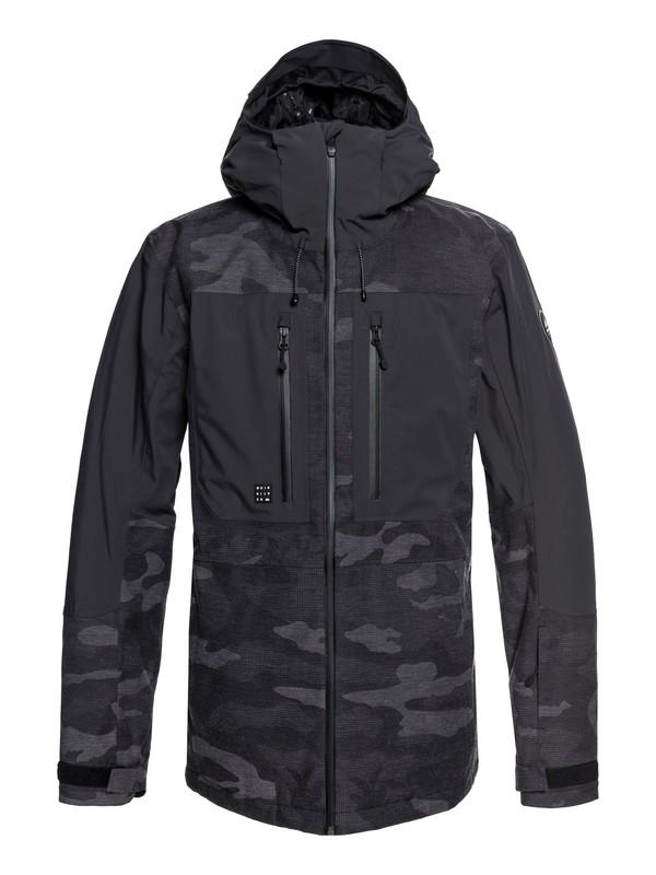 0 Fjord Snow Jacket Black EQYTJ03175 Quiksilver