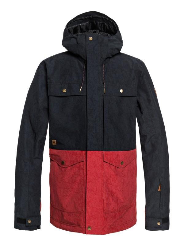 0 Horizon Snow Jacket Black EQYTJ03177 Quiksilver