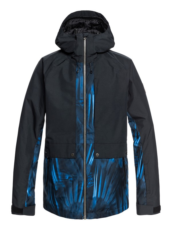 0 Travis Ambition Snow Jacket Blue EQYTJ03179 Quiksilver