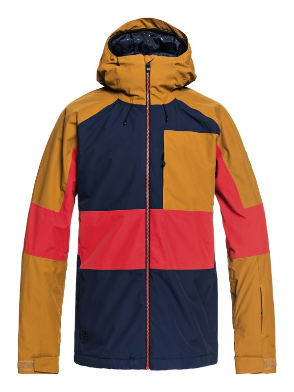 0 Sycamore - Snow Jacket for Men Blue EQYTJ03180 Quiksilver