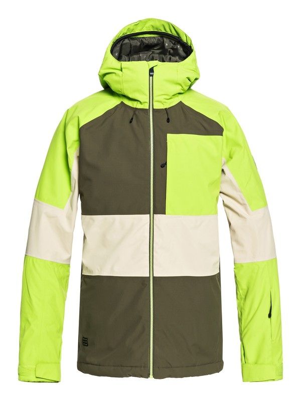 0 Sycamore - Snow Jacket for Men Brown EQYTJ03180 Quiksilver