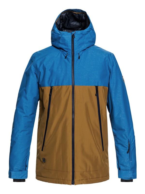 0 Сноубордическая куртка Sierra Коричневый EQYTJ03181 Quiksilver