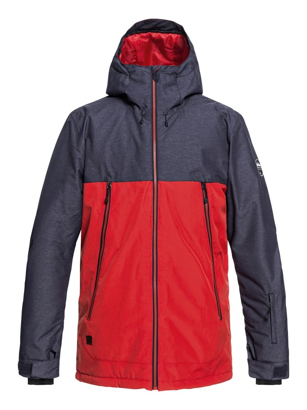 0 Sierra Snow Jacket Red EQYTJ03181 Quiksilver