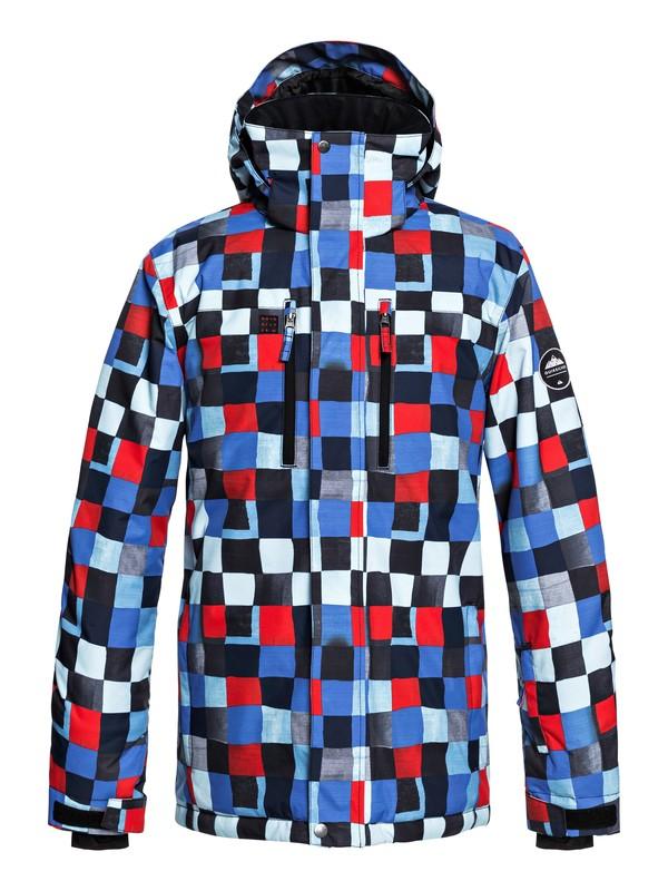 0 Сноубордическая куртка Mission Синий EQYTJ03186 Quiksilver