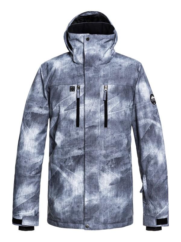 0 Mission - Snow Jacket for Men Black EQYTJ03186 Quiksilver