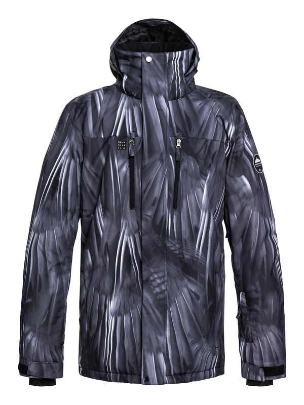 0 Mission Snow Jacket Black EQYTJ03186 Quiksilver