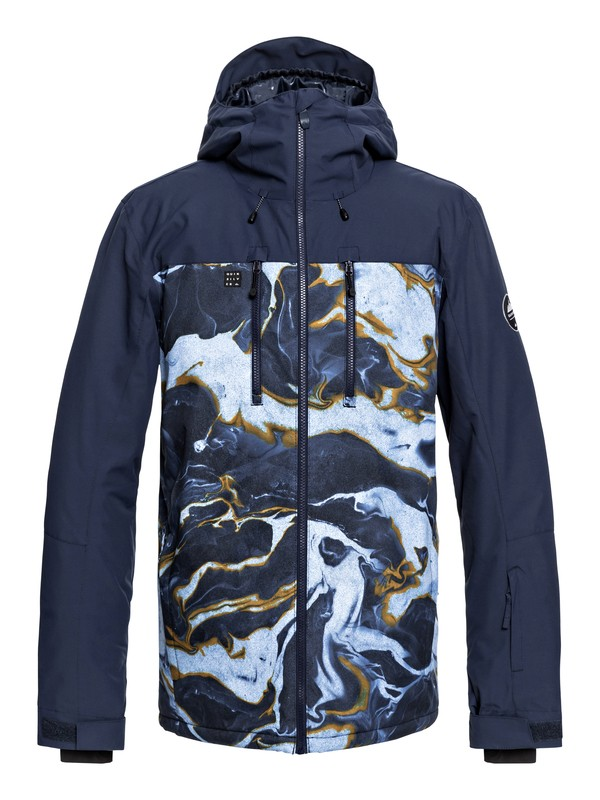 0 Mission Block - Snow Jacket  EQYTJ03187 Quiksilver