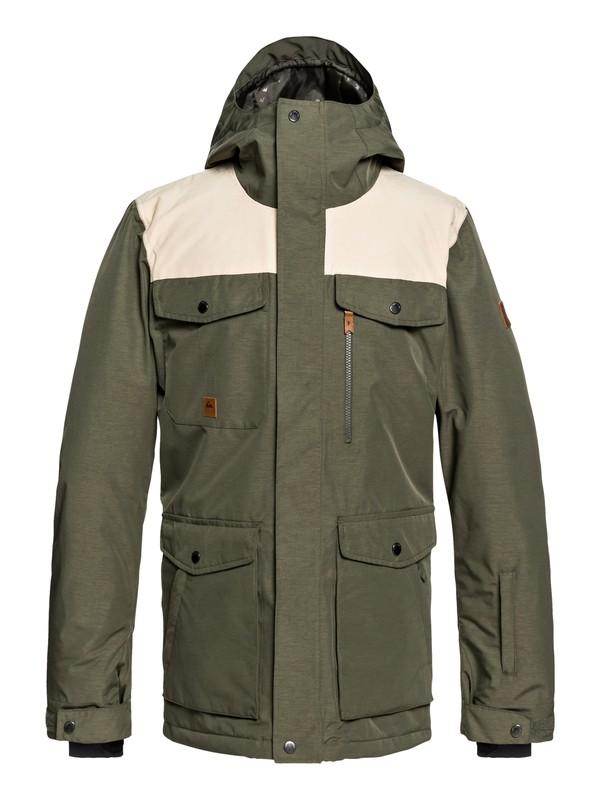 0 Raft Snow Jacket Brown EQYTJ03188 Quiksilver