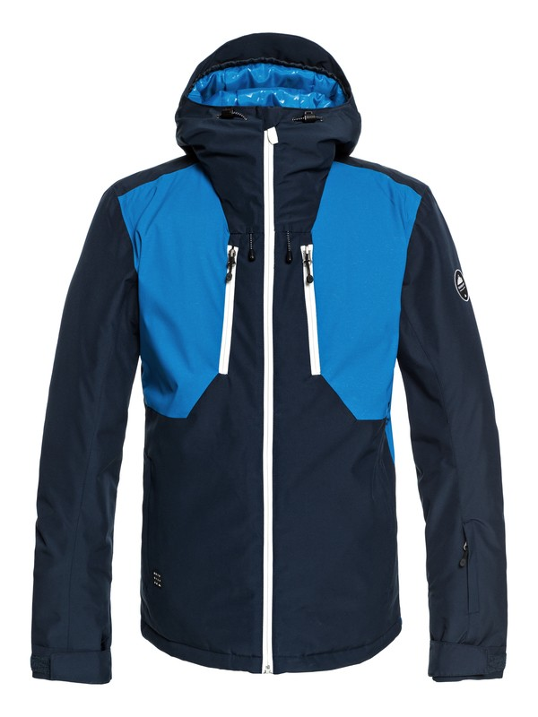 0 Mission Plus - Snow Jacket for Men Blue EQYTJ03189 Quiksilver