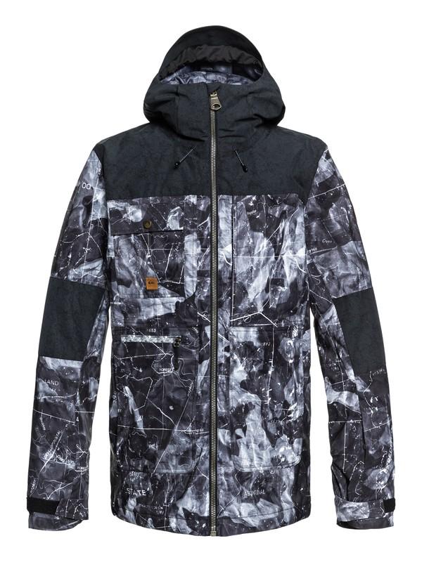 0 Сноубордическая куртка Arrow Wood Черный EQYTJ03191 Quiksilver