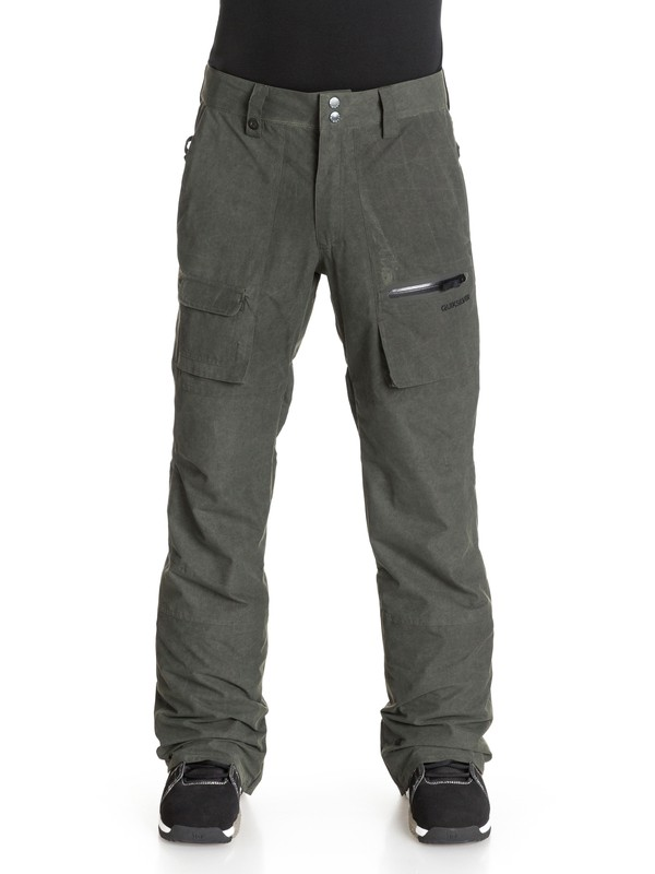 0 Dark And Stormy - Pantalon de snow  EQYTP03004 Quiksilver
