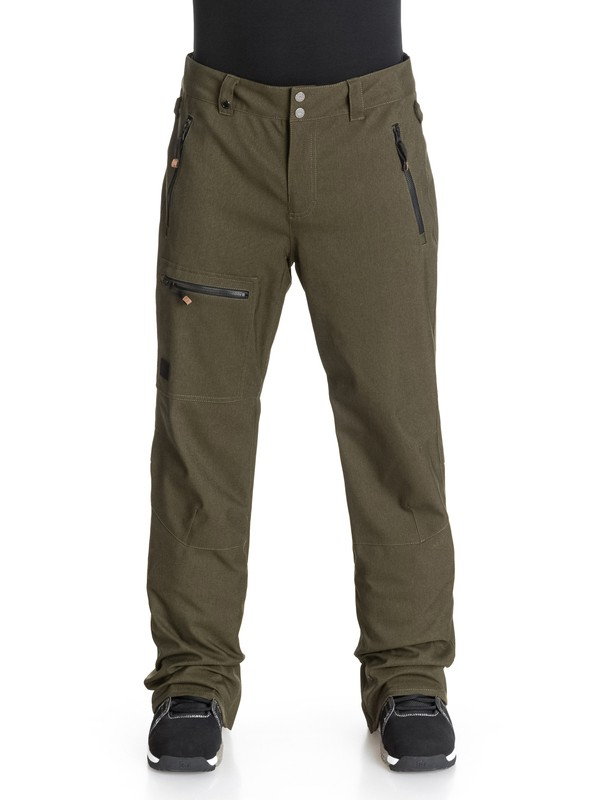 0 Lincoln 10K Snow Pants  EQYTP03008 Quiksilver