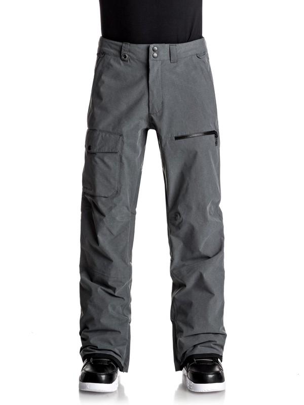 0 Utility - Pantalones Para Nieve para Hombre Negro EQYTP03059 Quiksilver