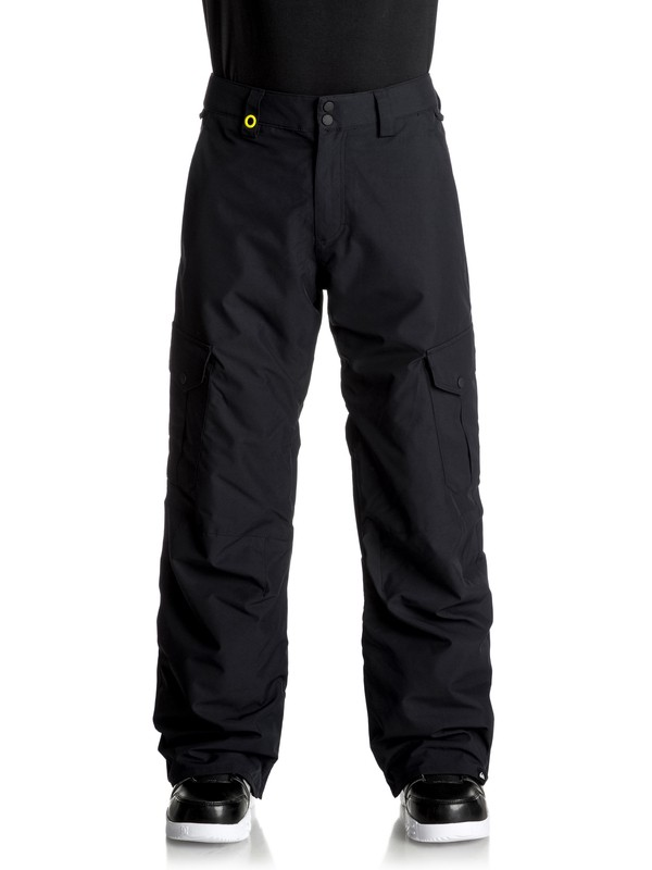 0 Porter Shell Snow Pants Black EQYTP03060 Quiksilver