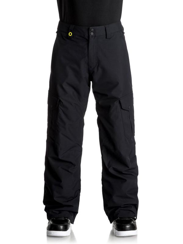 0 Porter - Pantaloni da snowboard Black EQYTP03062 Quiksilver