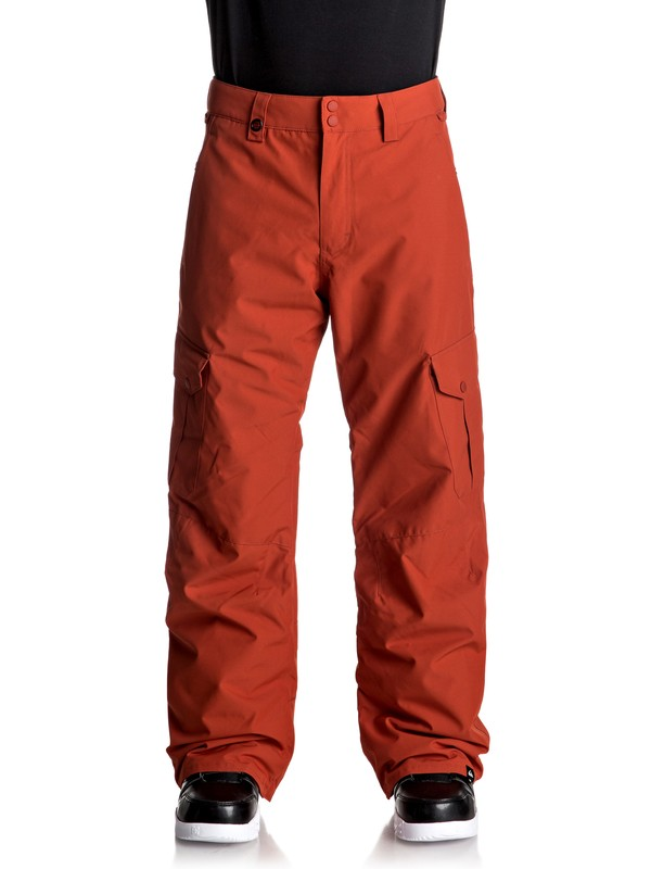 0 Porter Snow Pants Red EQYTP03062 Quiksilver